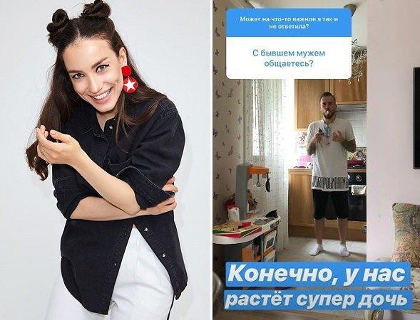 Конфликт улажен: Виктория Дайнеко поддерживает дружеские отношения с бывшим мужем