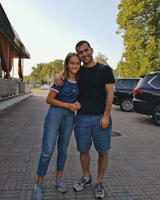 Александр Кержаков показал старшую дочь от первого брака