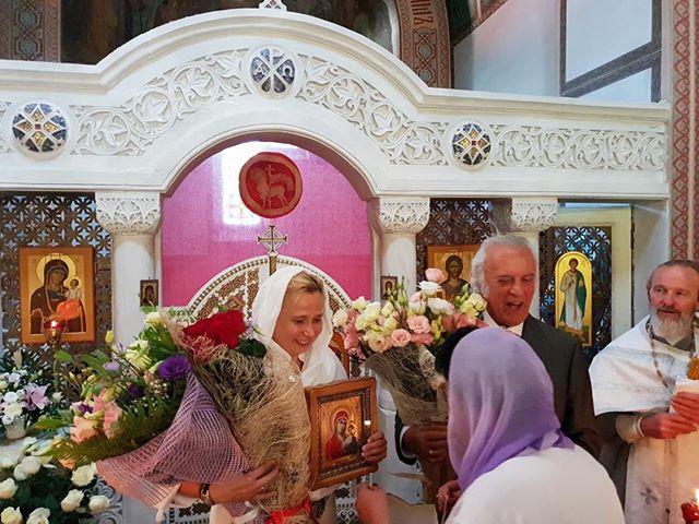 80-летний поэт Илья Резник обвенчался со своей 53-летней супругой