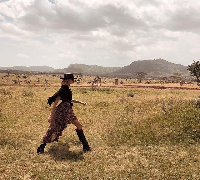 В гостях у дикой природы: Елена Перминова путешествует по Кении