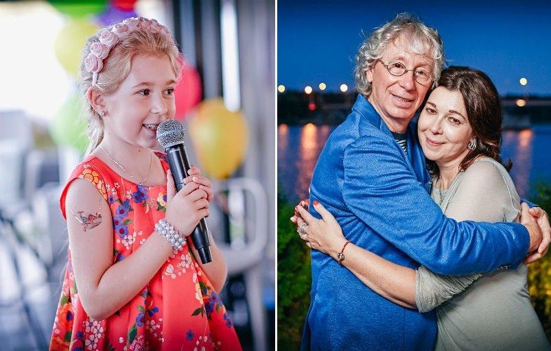 Дочь Аркадия Укупника отметила 7-летие в кругу звезд