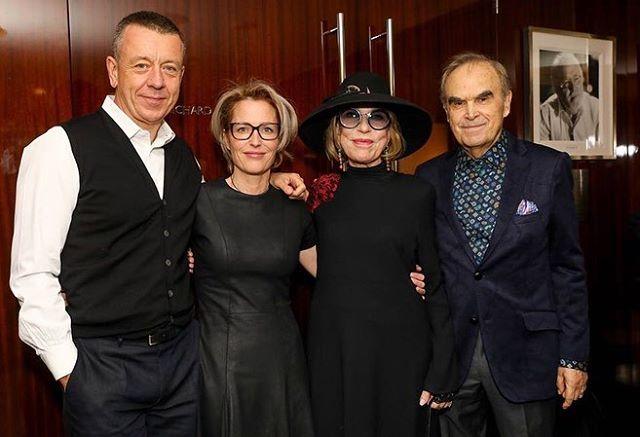 Актриса Инна Чурикова отпраздновала 75-летие за границей