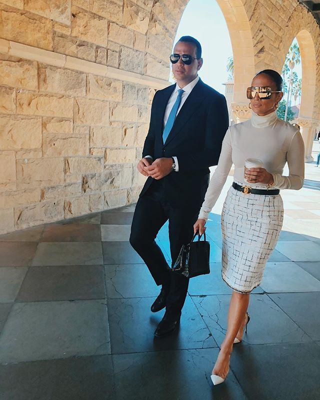 Дженнифер Лопес вмешалась в судебную тяжбу Алекса Родригеса с бывшей женой