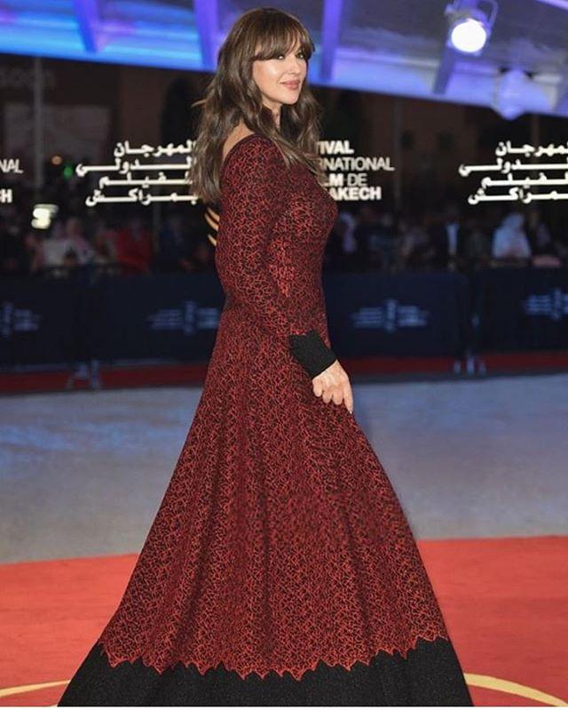 Моника Беллуччи посетила церемонию закрытия кинофестиваля в Марракеше