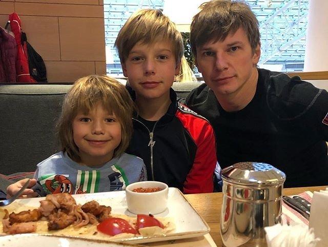 Андрей Аршавин становится образцовым отцом
