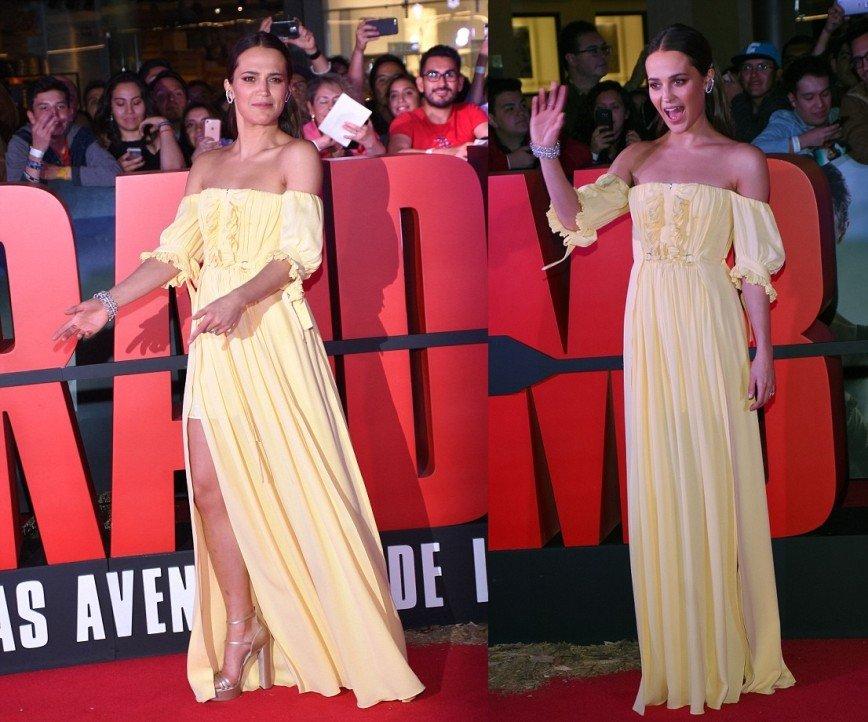 Алисия Викандер представила фильм «Tomb Raider: Лара Крофт» в Мексике