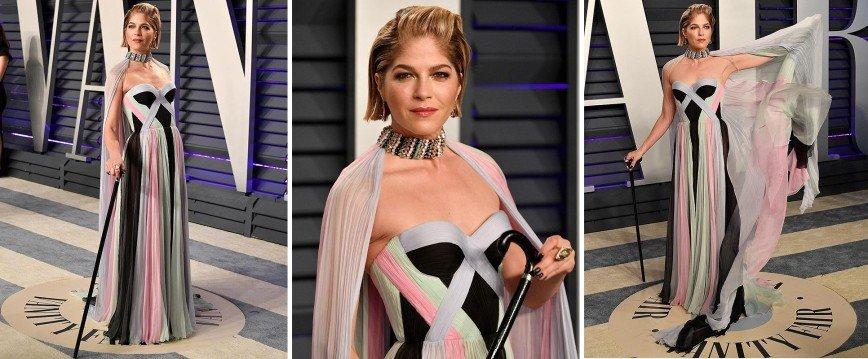 Всем платья! Самые оригинальные и эпатажные наряды «Оскара»