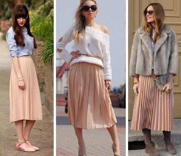Must have весны: стильные образы с юбкой-плиссе, которые впишутся в любой гардероб