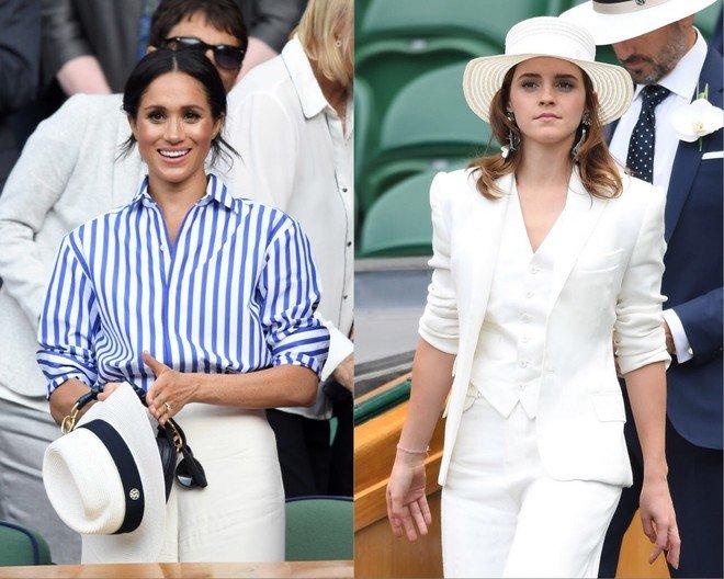 «Ее должен был выбрать принц»: Эмма Уотсон покорила публику своим образом на Уимблдоне