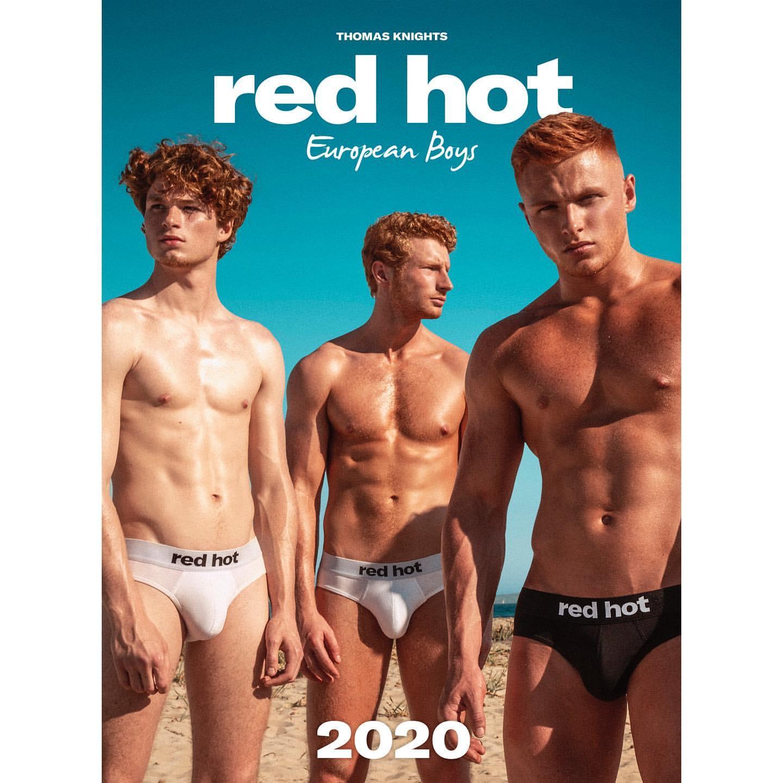 Рыжие-бесстыжие: эти огненные парни попадут в самый откровенный календарь 2020 года