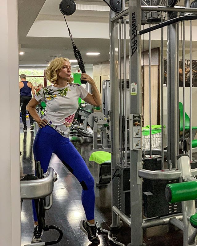 Место силы — спортзал: Ирина Гринева призывает работать над фигурой