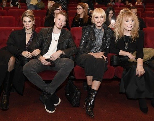 Алла Пугачева вместе с дочерью и внуком посетила премьеру фильма «Тот самый концерт»
