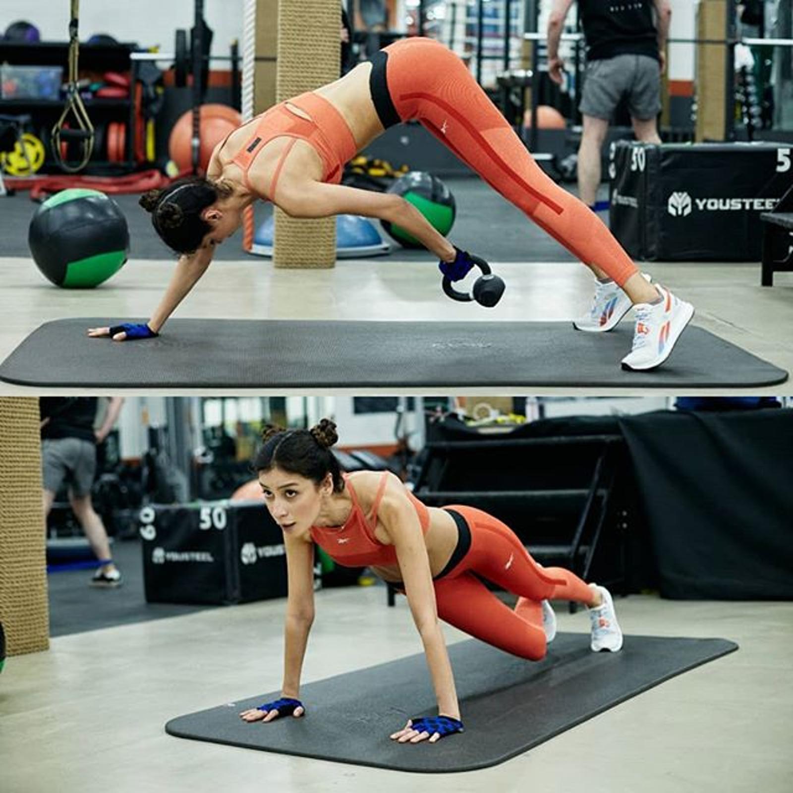 Равшана Куркова собственным примером мотивирует на занятия спортом