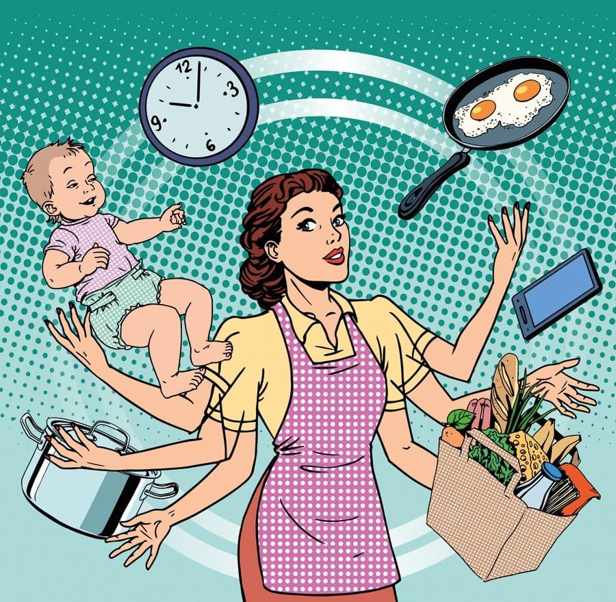 Мама-менеджмент: как все успеть? Никак! Но кое-что стоит попробовать