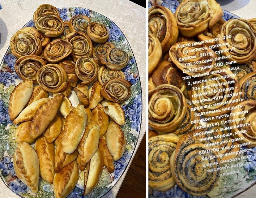 Горячая домохозяйка! Альбина Джанабаева показала, как замешивает тесто для булочек