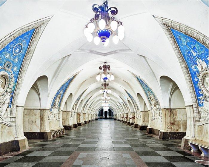 Иностранные болельщики ЧМ 2018 назвали самые красивые станции московского метрополитена
