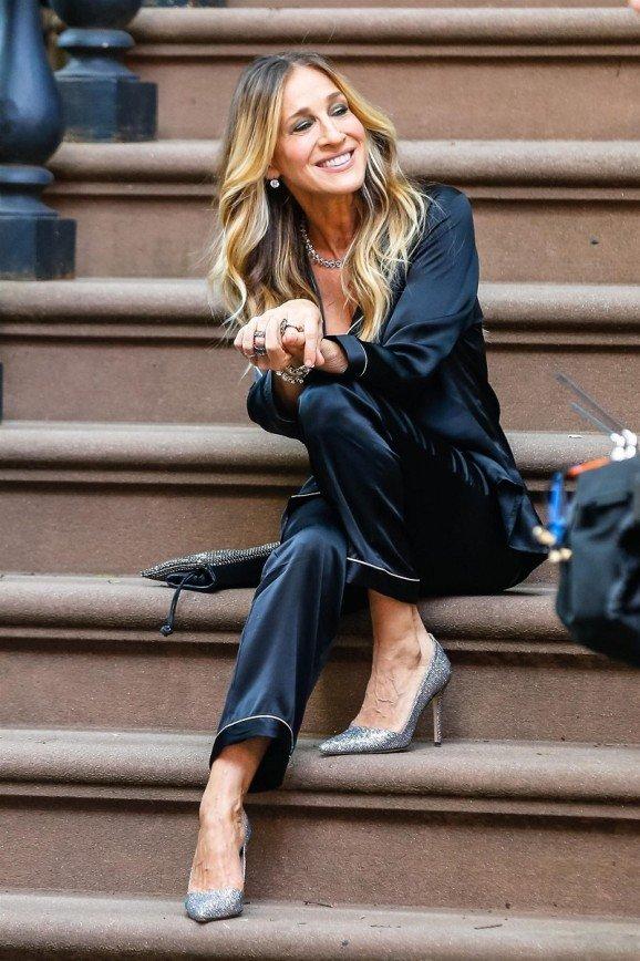 «Как всегда великолепна»: Сара Джессика Паркер хороша даже в пижаме