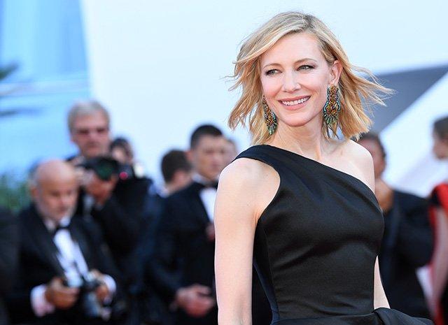 «Никаких утиных губ»: Кейт Бланшетт восхитила публику элегантностью