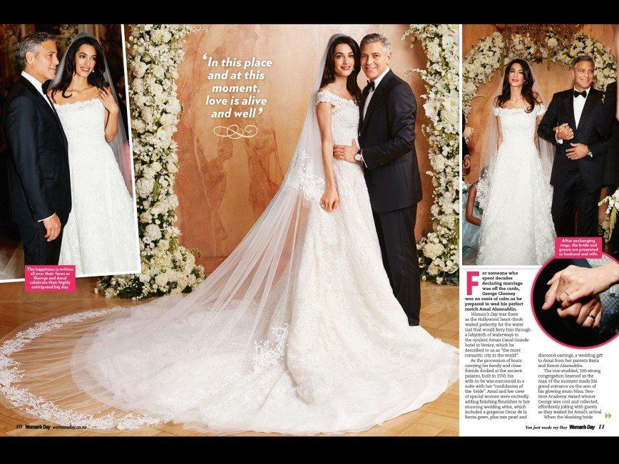 «Мода – это искусство»: Свадебное платье жены Джорджа Клуни выставят в музее