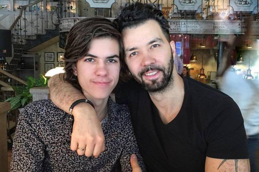 «Двое из ларца»: Денис Клявер поразил фотографией сына
