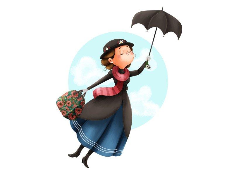 Словно Мэри Поппинс: как мода на зонтики охватила весь мир