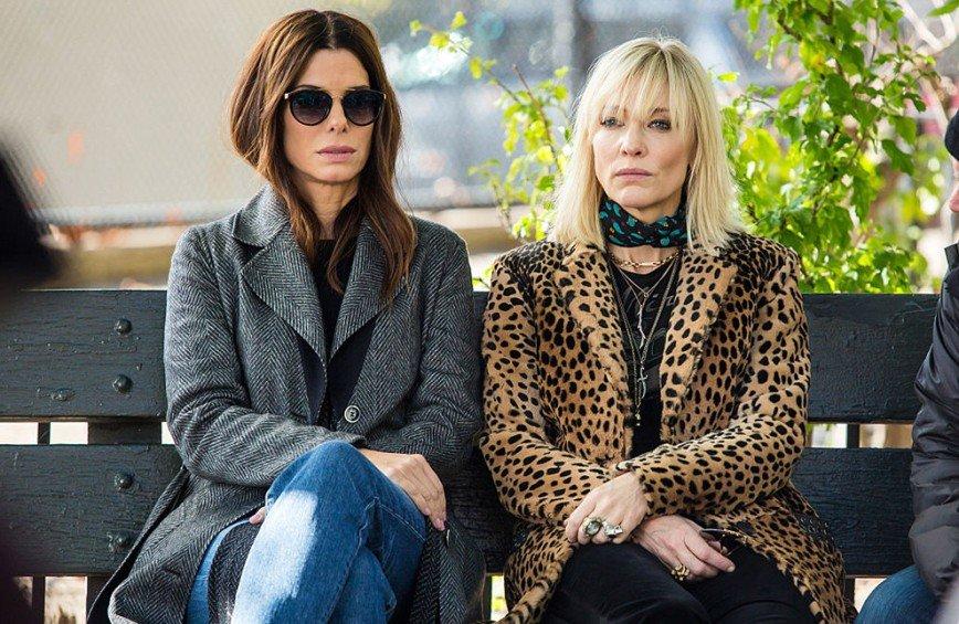 Сандра Баллок, Рианна и Энн Хэтэуэй в новом трейлере фильма «8 подруг Оушена»