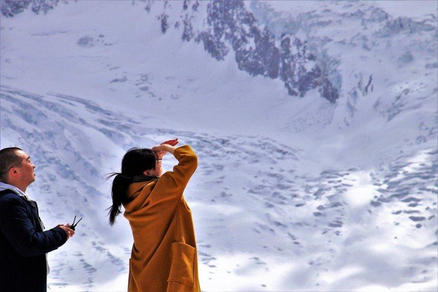 Заблудившийся турист случайно оказался на высоте 2400 метров