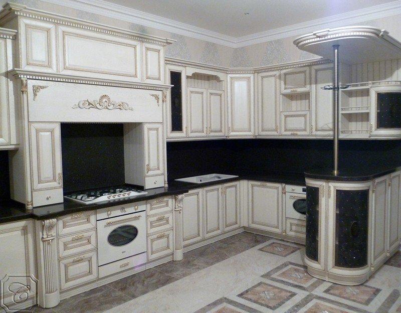 Автор: expressmebels, Фотозал: Мой дом,  73 кухня Beatriche с патиной 350 тыс.руб.