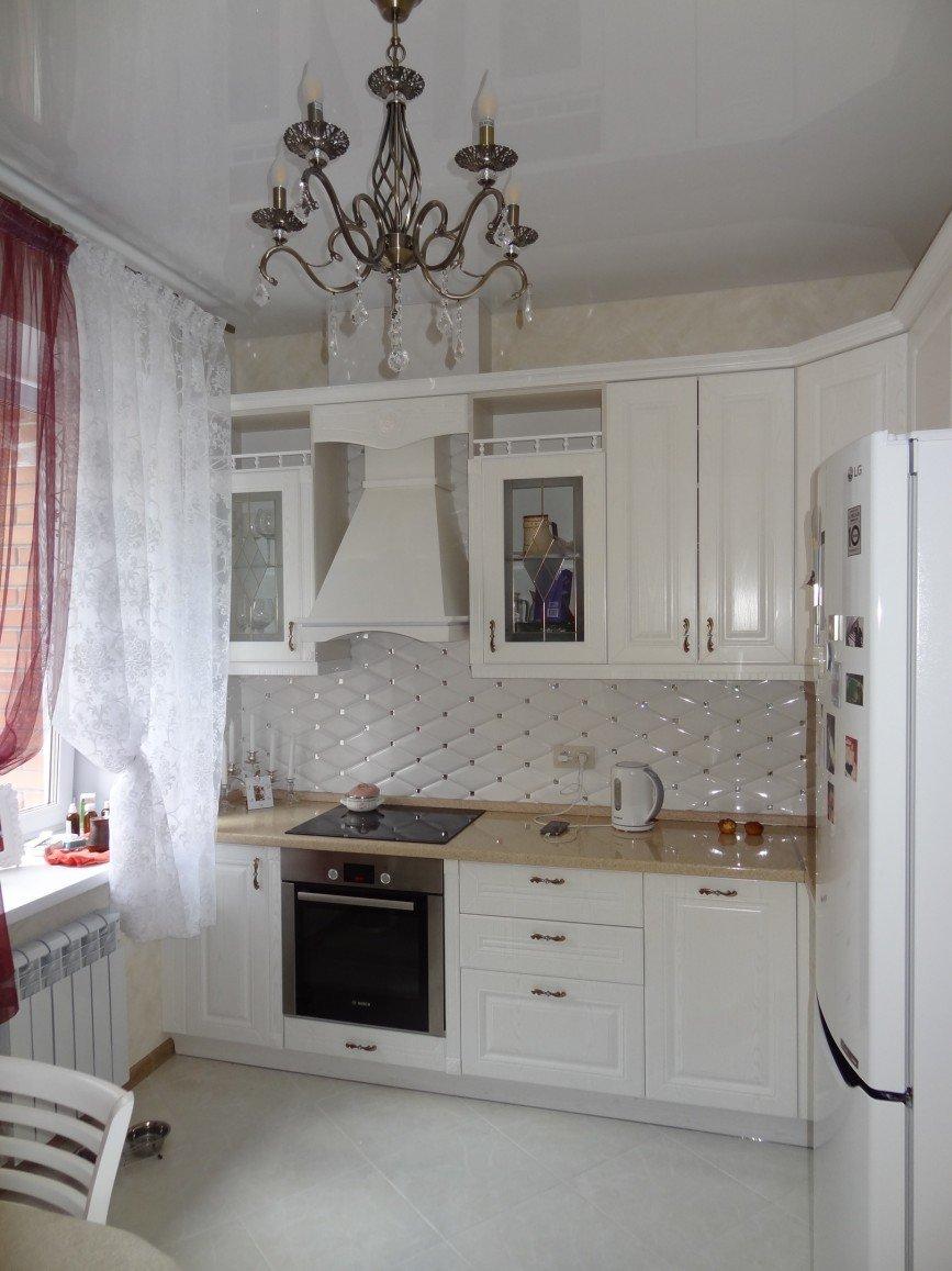 Автор: expressmebels, Фотозал: Мой дом,  84 Кухня - Прованс. Эмаль, фурнитура Блюм, столешница Союз. Цена 220 тыс. руб.