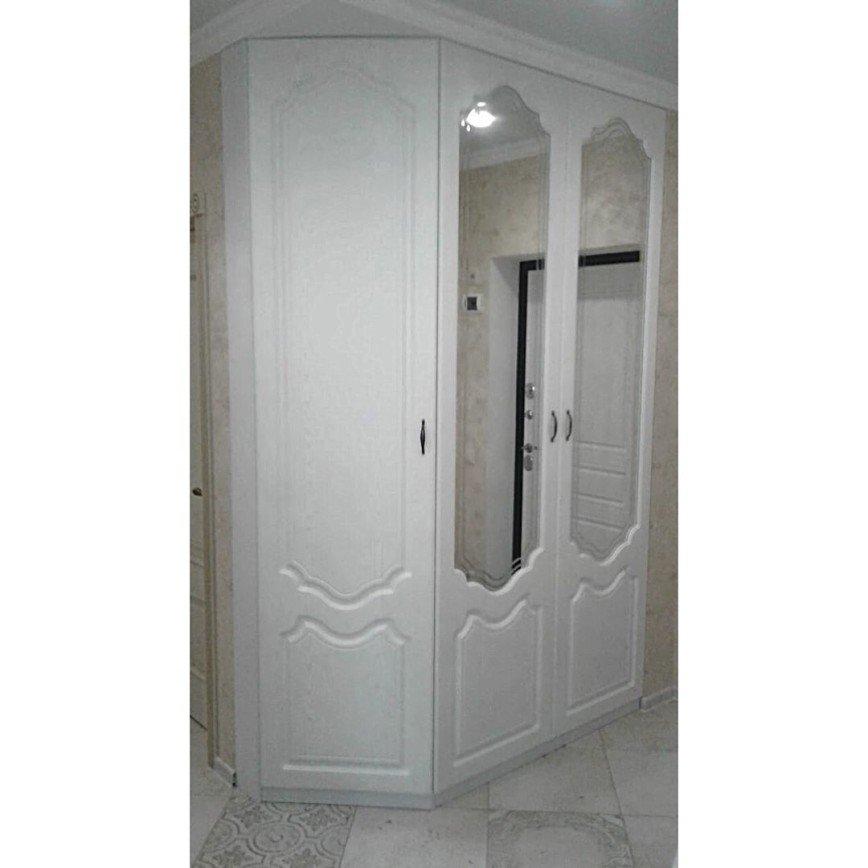 Автор: expressmebels, Фотозал: Мой дом, 89 Шкаф с классическими распашными фасадами Аристо, мдф+ПВХ, цена 108 тыс.руб.