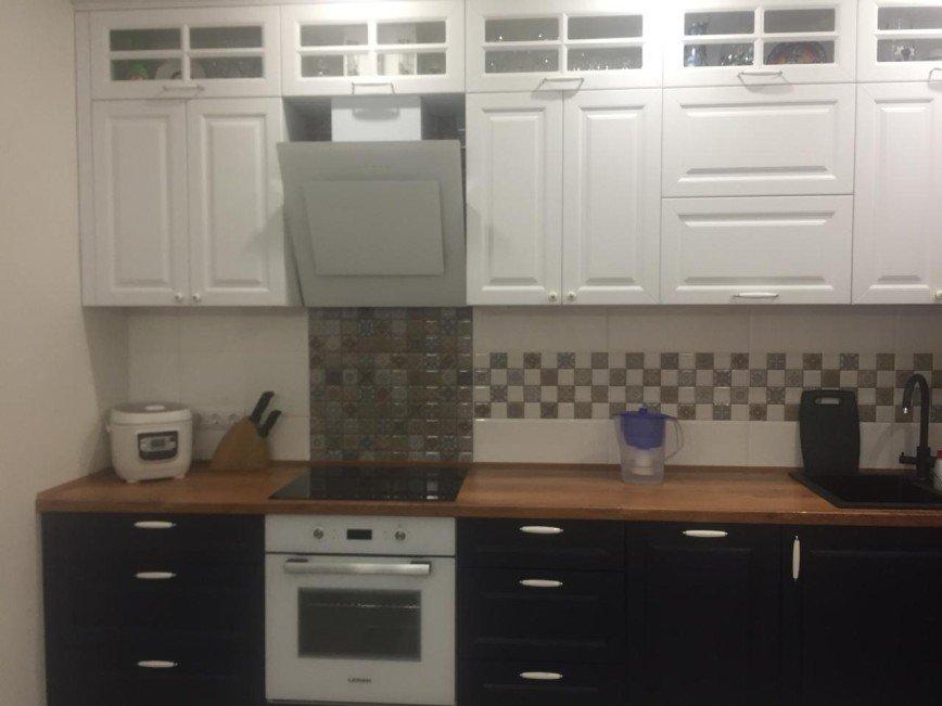 Автор: expressmebels, Фотозал: Мой дом, 94 Кухня -Прованс. Мдф+ПВХ, фурнитура Блюм, столешница Кедр. Цена 90 тыс. руб.