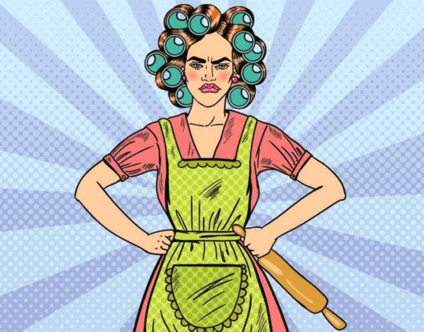 Нет сварливым домохозяйкам: как не превратиться в фурию в семейной жизни