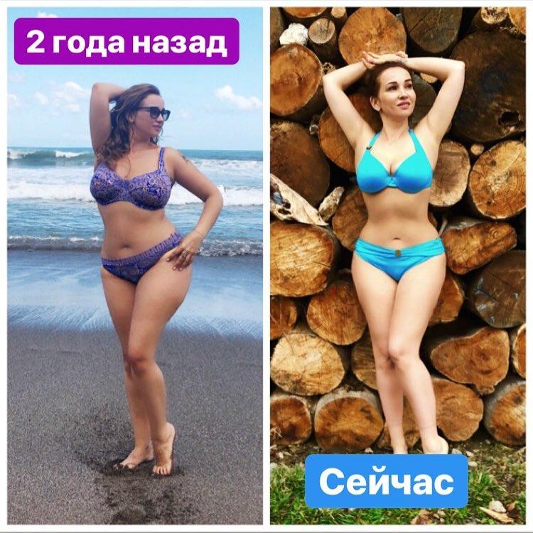 «Вот это результат!»: Анфиса Чехова показала фото до и после похудения