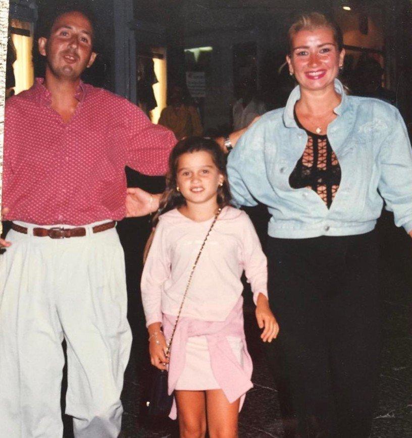 Ксения Бородина и Курбан Омаров не могут решить, на кого похожа их общая дочь