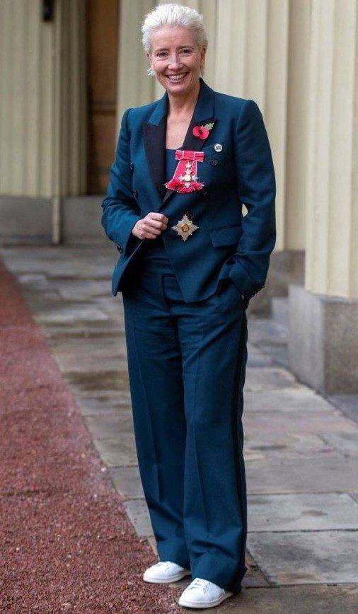 Актриса Эмма Томпсон смутила принца Уильма вопросом о поцелуе