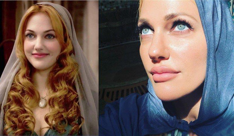 «С торшера сняли?»: в сети обсуждают платье Мерьем Узерли в Каннах