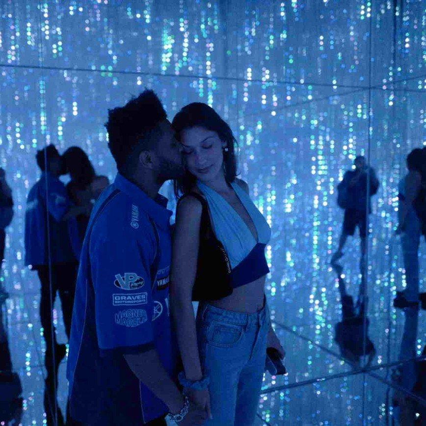 The Weeknd показал редкие фото с Беллой Хадид