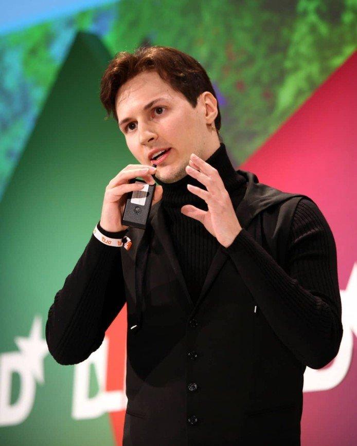Павел Дуров впервые попал в топ самых влиятельных людей до 40 лет