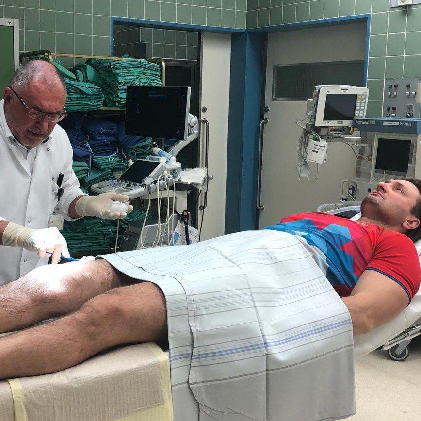 Придется заменить коленный сустав: Эдгард Запашный нуждается в лечении