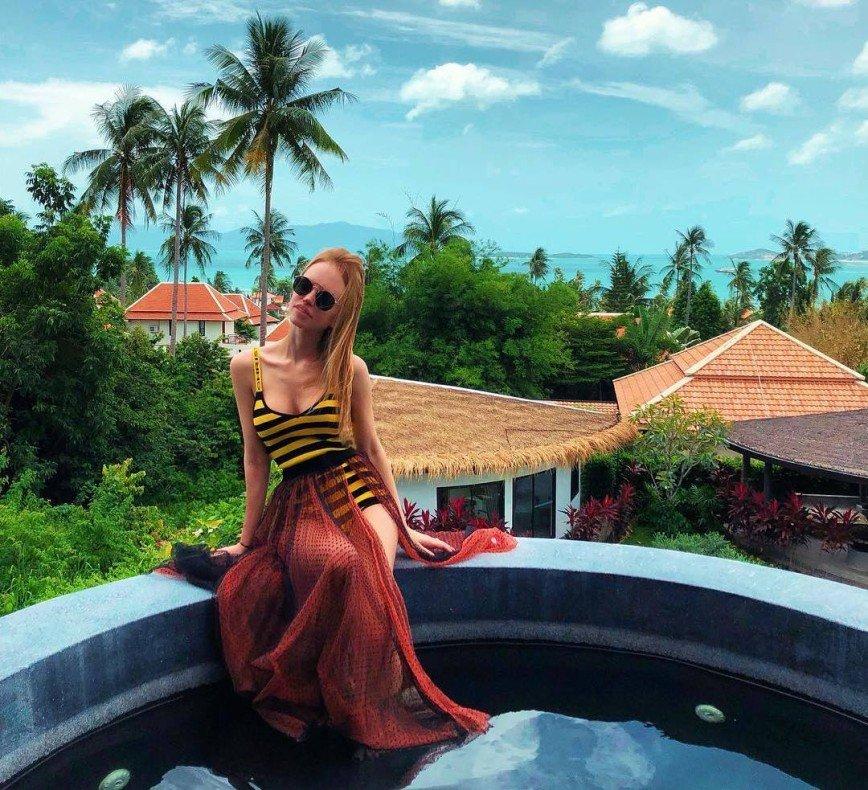 Милана Кержакова отправилась в Таиланд