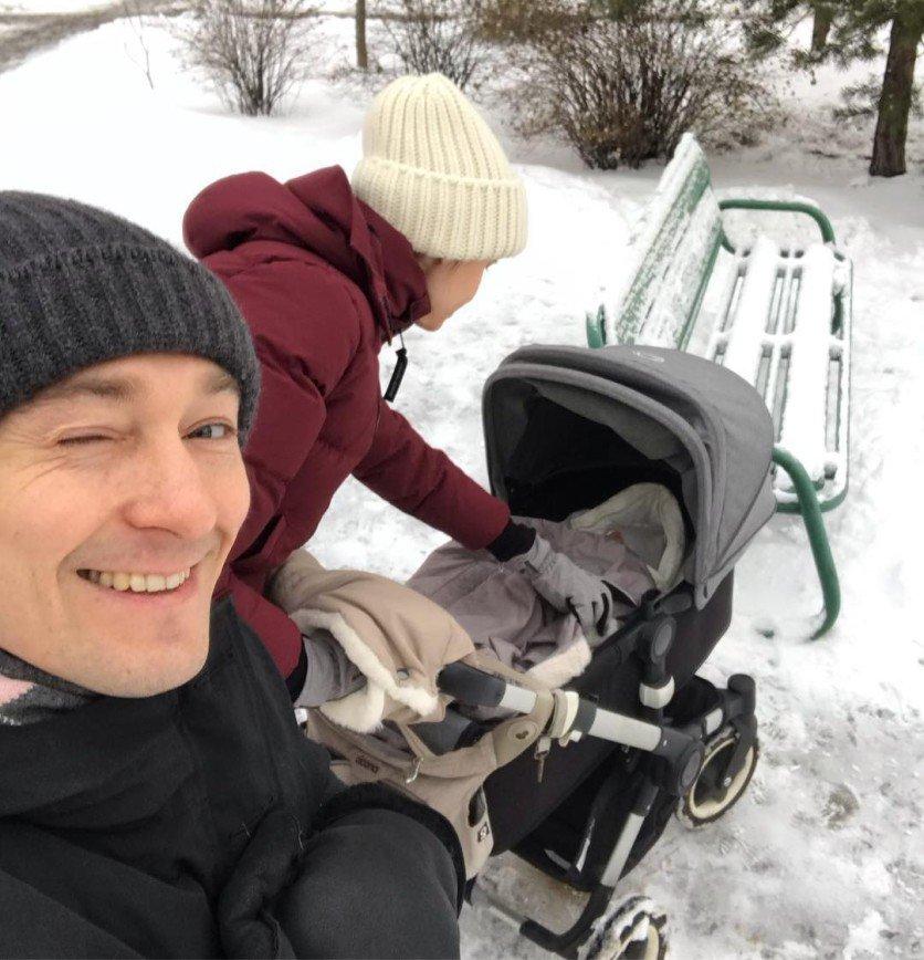 Сергей Безруков впервые показал подросшего сына Степана