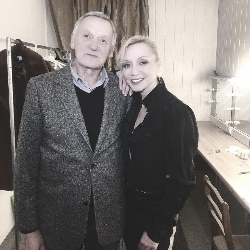 Редкое фото: Кристина Орбакайте трогательно поздравила отца с днем рождения