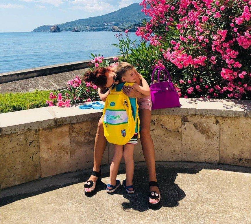 Эвелину Бледанс обидел отказ Хабенского сфотографироваться с ее сыном