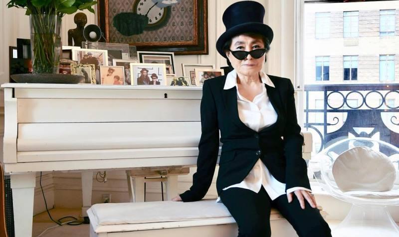 Вдова Джона Леннона Йоко Оно представила кавер-версию песни Imagine