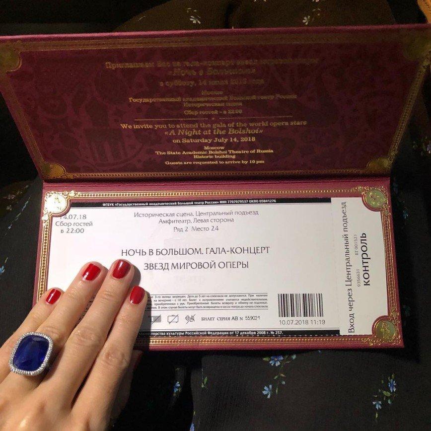 Обыватели гадают о стоимости кольца Ксении Собчак