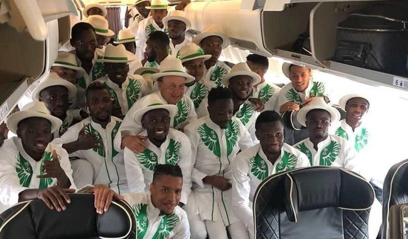 «Модники какие!»: сборная Нигерии покорила сеть официальной формой к ЧМ-2018