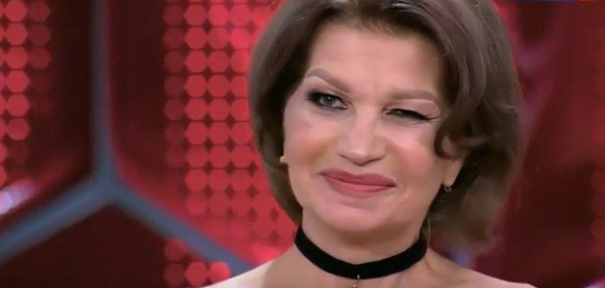 Пожилая жена Гогена Солнцева показала лицо после пластики: