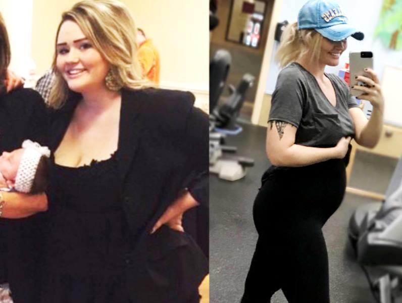 «Поразительный результат»: в США молодая мама похудела на 63 килограмма