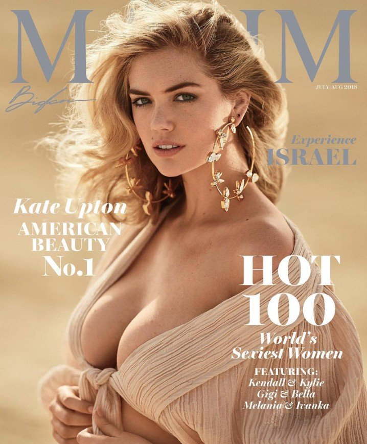 «Обычная блондинка»: модель plus size Кейт Аптон признали самой сексуальной женщиной мира