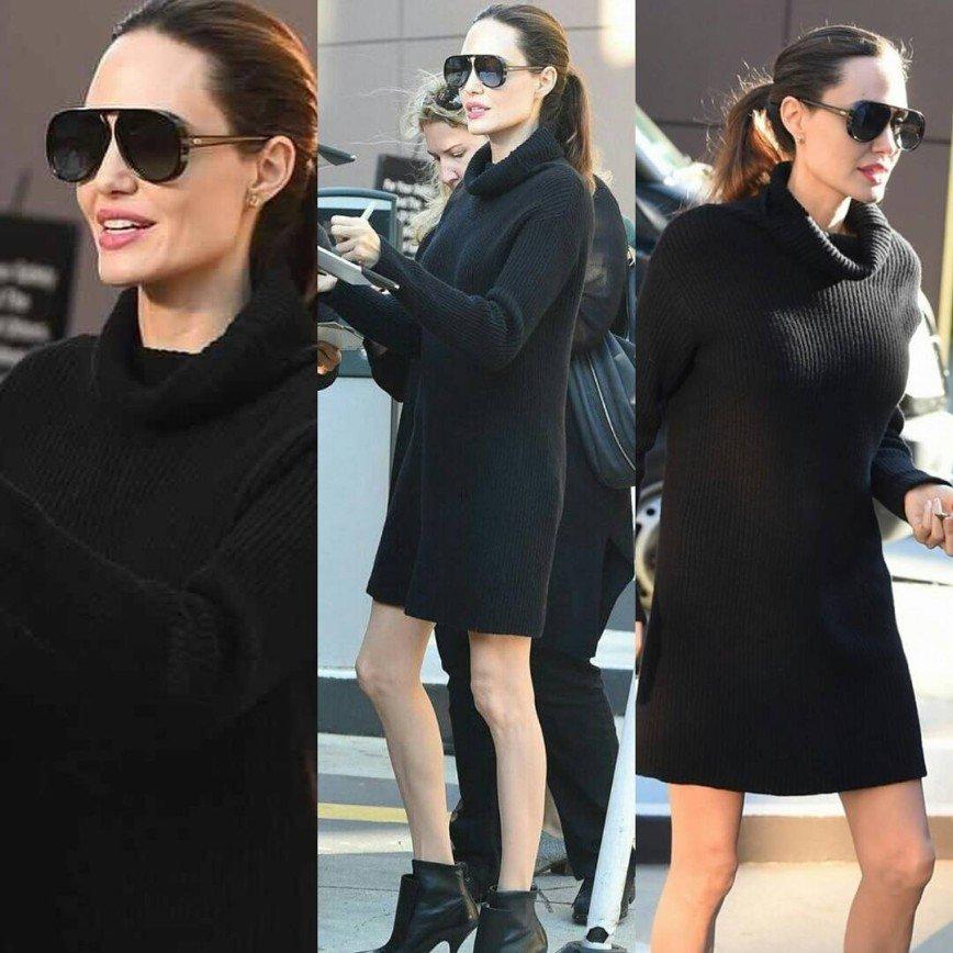 «Похорошела!»: Анджелина Джоли выступила с речью о равенстве в Голливуде